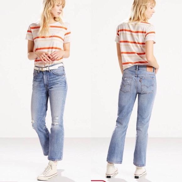 082282ea Levi's Jeans | Levis 517 Bootcut Cropped 98 | Poshmark
